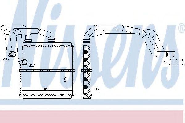 Печка  NISSAN QASHQAI (J10) (07-) 2.0 i 16V