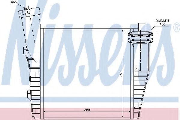 Радіатор охолодження NISSENS 96688