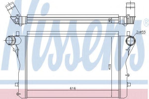 Радіатор охолодження NISSENS 96420