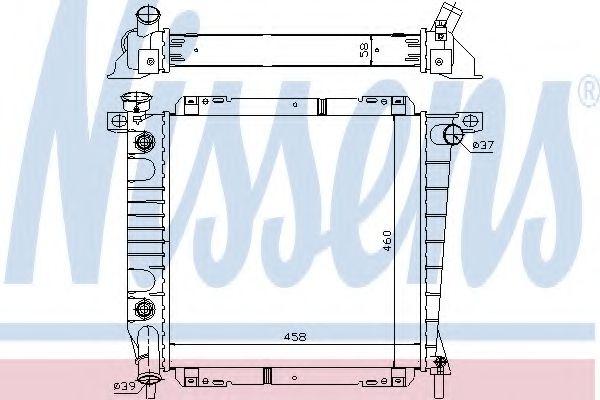 Фото - Радиатор FD EXPLORER(91-)4.0 i[OE F17H8005CA] NISSENS - 620671