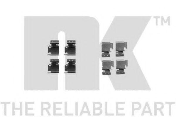 Комплектующие, колодки дискового тормоза  арт. 7923298