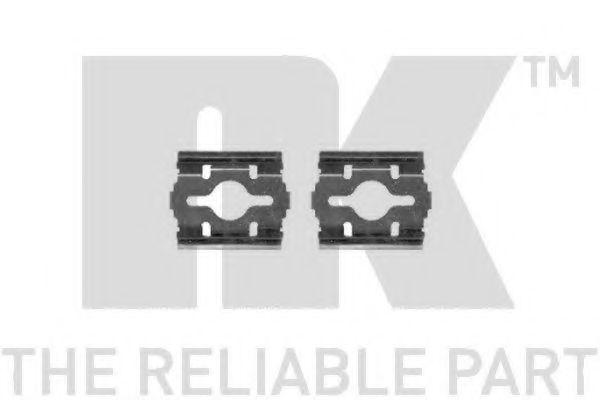Аксессуары Комплектующие, колодки дискового тормоза  арт. 7923657