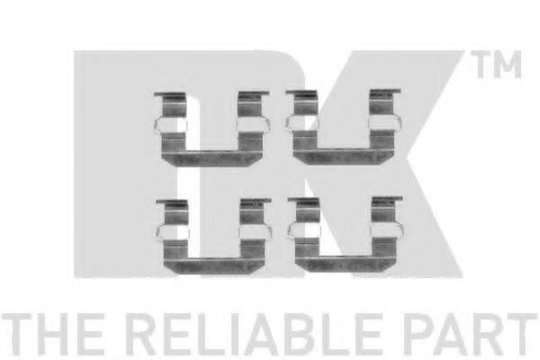 Комплектующие, колодки дискового тормоза  арт. 7934645