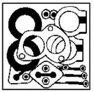 Катализатор Монтажный комплект, катализатор WALKER арт. 87181