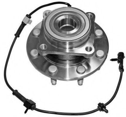 Комплект подшипника ступицы колеса  арт. HUWB11147
