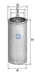 Топливный фильтр UFI 2430400