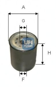 Топливный фильтр  арт. 2433100
