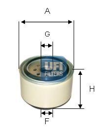 Топливный фильтр  арт. 2433800