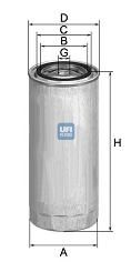 Фильтр топливный BOSCH арт. 2434400