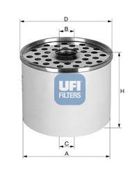Топливный фильтр  арт. 2436100