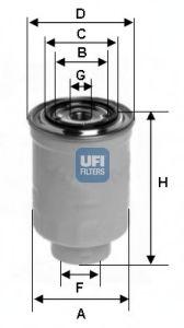 Топливный фильтр  арт. 2441100