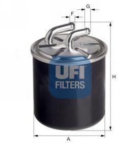 Топливный фильтр  арт. 2443600