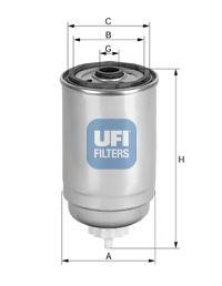 Топливный фильтр  арт. 2452600