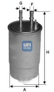 Топливный фильтр  арт. 24ONE01