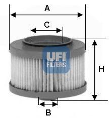 Топливный фильтр  арт. 2601300