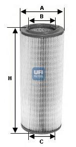 Воздушный фильтр  арт. 2734100