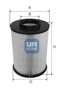 Воздушный фильтр  арт. 2767500