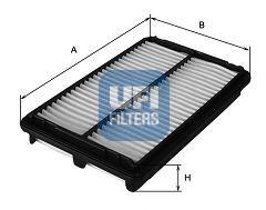 Воздушный фильтр  арт. 3010400