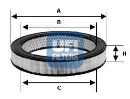 Воздушный фильтр  арт. 3080300