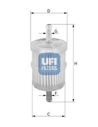 Топливный фильтр  арт. 3101000