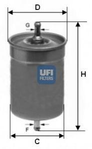 Топливный фильтр  арт. 3150000