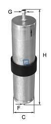 Топливный фильтр  арт. 3183900
