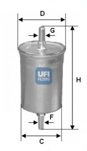 Топливный фильтр  арт. 3184300