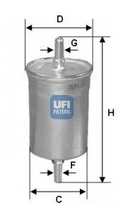 Топливный фильтр  арт. 3184400