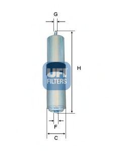 Топливный фильтр  арт. 3185701