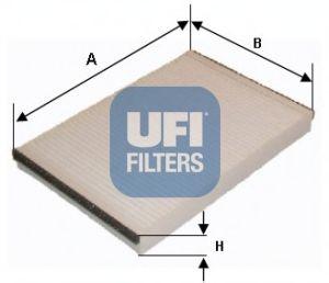 Фото - Фильтр, воздух во внутренном пространстве UFI - 5315200