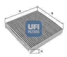 Фильтр, воздух во внутренном пространстве KNECHT арт. 5411300