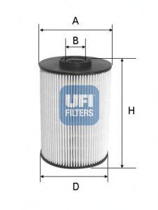 Топливный фильтр  арт. 2605500