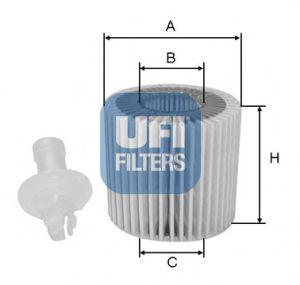 Масляный фильтр  арт. 2511600