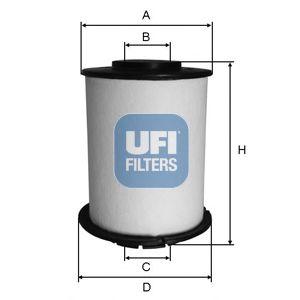Топливный фильтр  арт. 2603300
