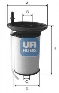 Топливный фильтр  арт. 2605200