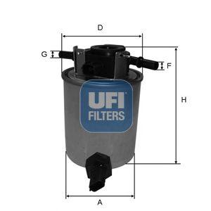 Топливный фильтр  арт. 2402001
