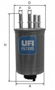 Топливный фильтр  арт. 2413000