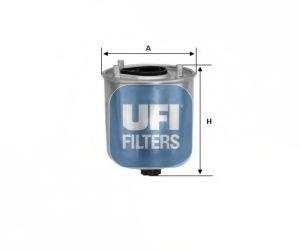 Топливный фильтр  арт. 2412800