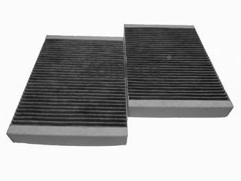 CC1297 Фильтр салона угольный К-т (2шт) Corteco CORTECO 80000538
