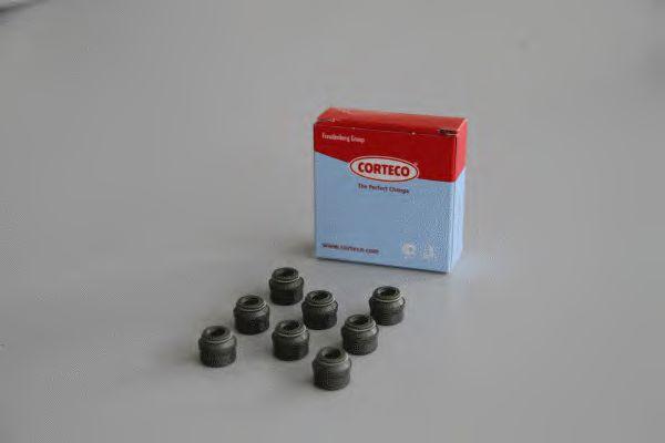 Комплект прокладок, стержень клапана IN/EX AUDI/MB/VW 6мм 8шт (пр-во Corteco)                         арт. 19036019