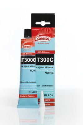 Герметик черный тюбик 80 мл от -50 до +300°C (пр-во Corteco)