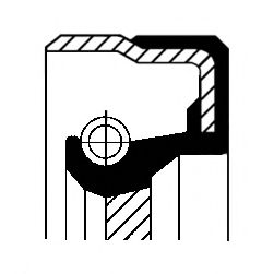 Сальник коленвала Corteco  арт. 12001475B