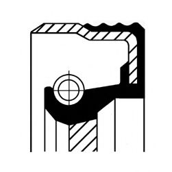 Сальник АКПП MB 43X58X7 (пр-во Corteco)                                                              ELRING арт. 01020045B
