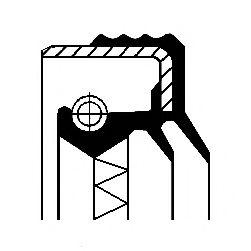 Сальник КПП Corteco  арт. 12019597B