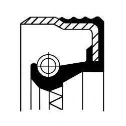 Сальник FRONT ALFA/VAG 32X47X10 FPM B1BAVISLDRWX7 (пр-во Corteco)                                     арт. 12012709B