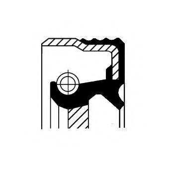 Сальник коленвала  арт. 12019250B
