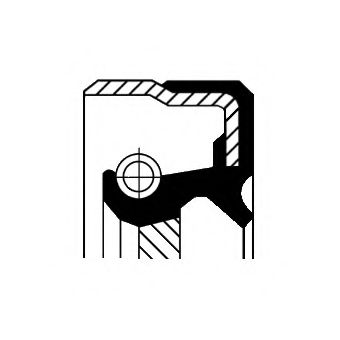 Сальник хвостовика  арт. 01019482B