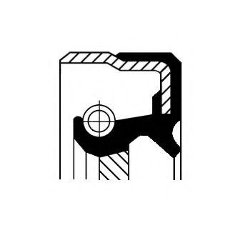 Сальник КПП FORD TRANSIT 91-00 40X58X8.8 ACM B1BASLRSX2 (пр-во Corteco)                               арт. 01030363B