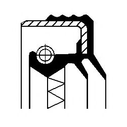 Уплотняющее кольцо, дифференциал, Уплотняющее кольцо, раздаточная коробка  арт. 12016062B