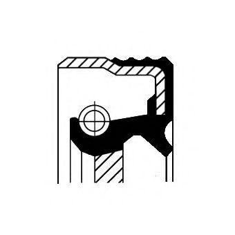 Сальник гумометалевий  арт. 12014825B